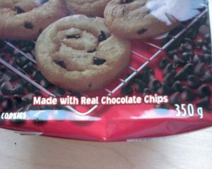 Made with real chocolate chips!